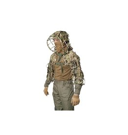 Giena Tactics Sniper Coat Viperhood Skeleton - MultiCam