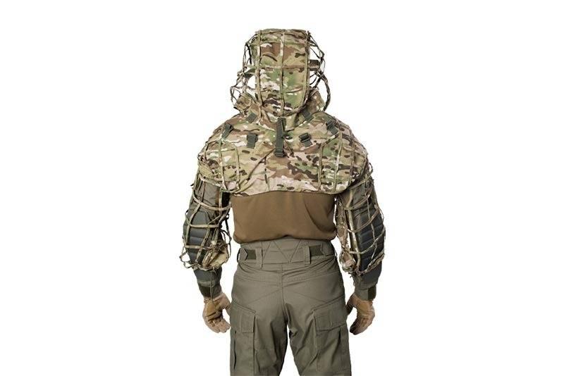Giena Tactics Sniper Coat Viperhood Skeleton - MultiCam