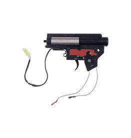 Specna Arms Reinforced V2 Gearbox Mod2 avec microrupteur - front