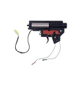Specna Arms verstärkte V2 Gearbox Mod2 mit Microswitch - front