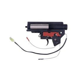 Specna Arms Boîte de vitesses V2 renforcée Mod2 avec micro-interrupteur - arrière