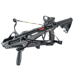 EK-Archery X-Bow Cobra Kit - Recurved 90 lbs - Ensemble d'arbalète tactique pistolet