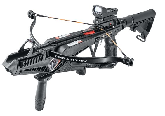 X-Bow Cobra Kit - recurved 90 lbs - tactical Pistol crossbow set