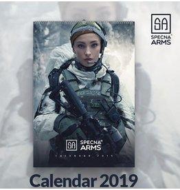 Specna Arms Tactical Girls wall calendar 2019