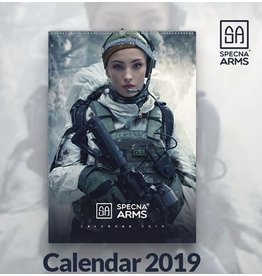 Specna Arms Tactical Girls Wandkalender 2019