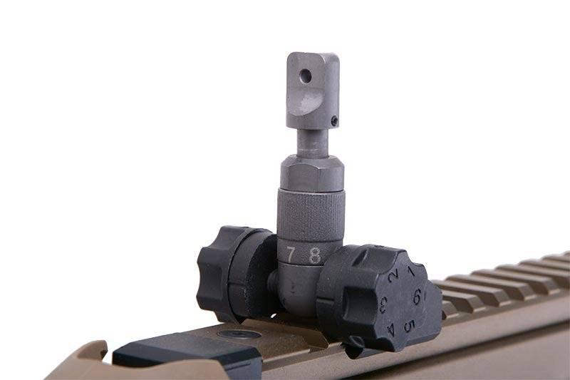 WE Tech SCAR Heavy Open-Bolt GBBR - TAN