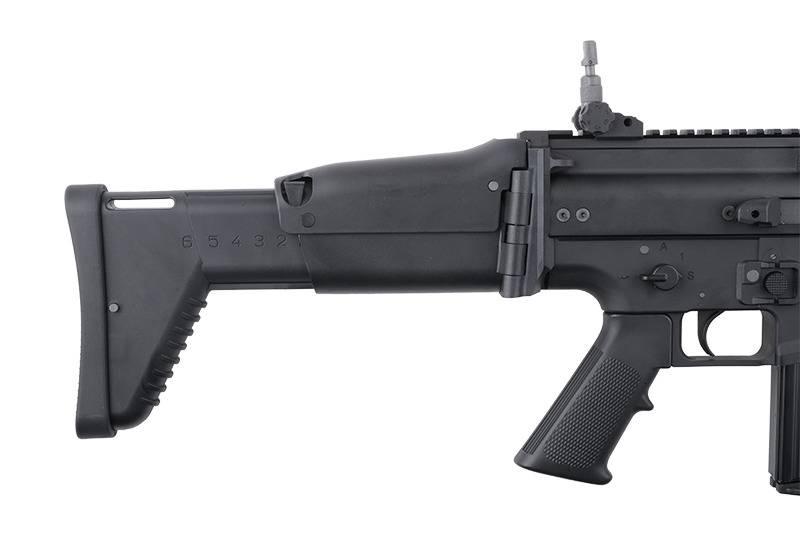 WE Tech SCAR Heavy Open-Bolt GBBR - BK