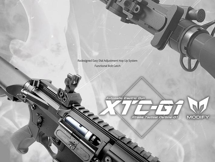 Modify XTC G1 AEG - BK - tuned