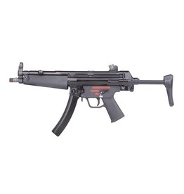 WE Tech MP5 A3 GBB Apache Maschinenpistole - BK