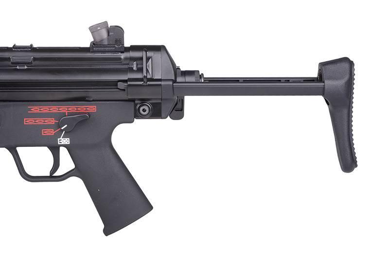 WE Tech MP5 A3 GBB Apache Maschinenpistole - BK