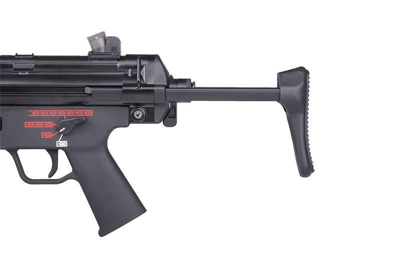 WE Tech Mitraillette MP5 A3 GBB Apache - BK