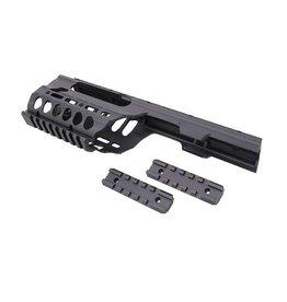 JG Works CNC Handguard RIS Conversion Kit for the MP5K Series - BK
