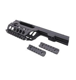 JG Works Kit de conversion CNC Handguard RIS pour la série MP5K - BK