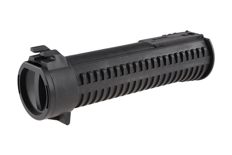 Supershooter/SHS PP-19 Bizon Hi-Cap 1000 BB Magazine - BK