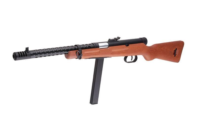 Snow Wolf SW-08 Beretta M1938 SMG AEP - Echtholz
