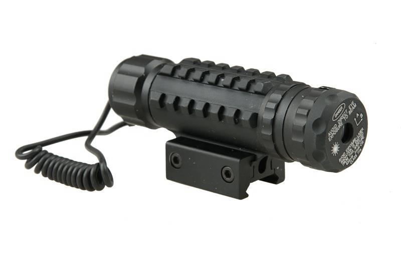 ACM Tactical Tac Laser Tri-rail pour rail Picatinny de 22 mm