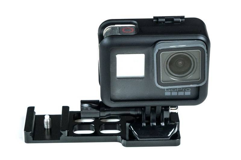 Novritsch Adaptateur GoPro pour rail Picatinny 22 mm