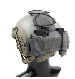 TMC MK1 Batterie Pouch für FAST Helme - grau