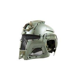Ultimate Tactical modularer Helm - FAST Warrior - OD