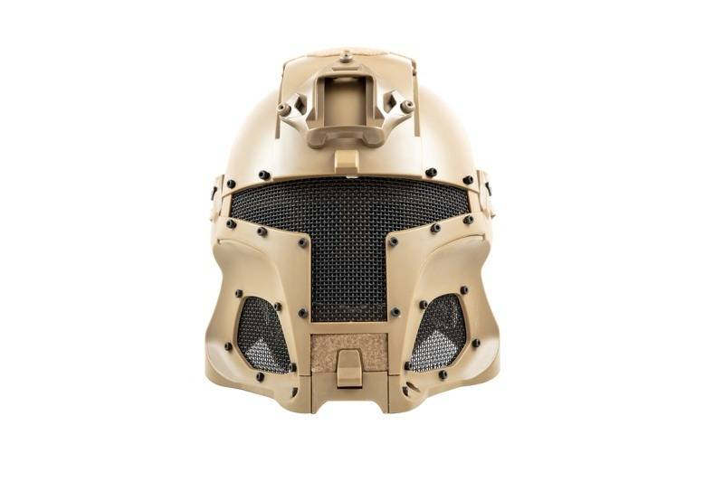Ultimate Tactical Modular Helmet - FAST Warrior - TAN