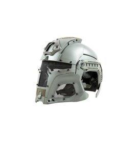 Ultimate Tactical modularer Helm - FAST Warrior - Grau
