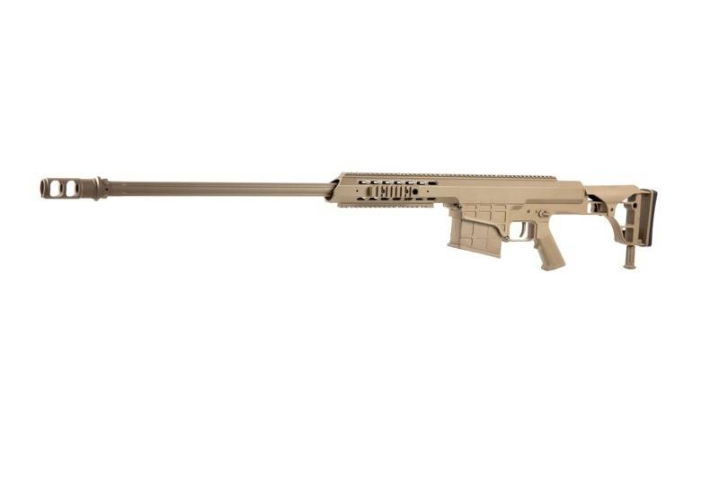 Snow Wolf Sw 016 Sniper Barrett M98b Aeg Tan Airsoftarms Tacstore