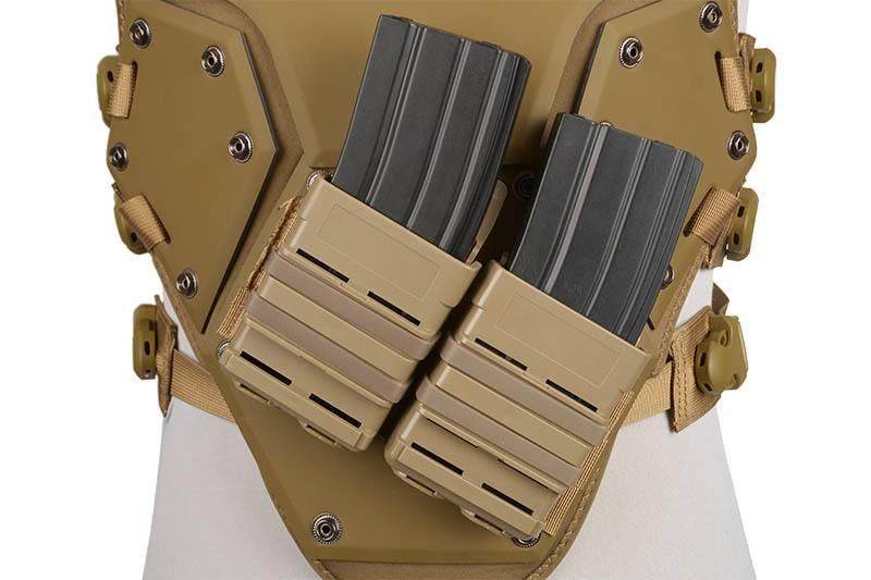 ACM Tactical Tactical Vest T3 Futuristic Protector - TAN