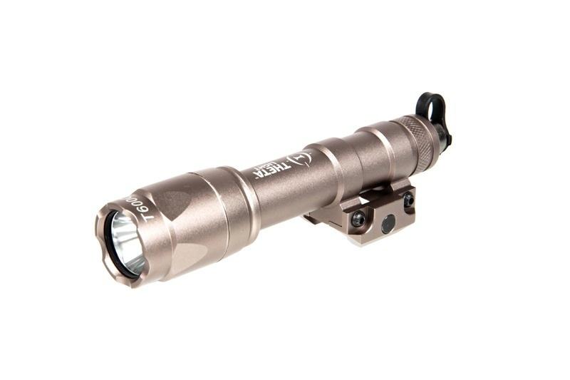 Theta Optics T600c Led Scout Taclight Dark Earth Airsoftarms