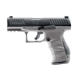 Walther PPQ M2 T4E Co2 RAM 5,0 Joule - Kal. 43 - Tungsten gray