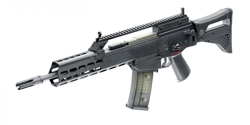H&K Ares G36K KeyMod EFCS EBB - 1,0 Joule - BK