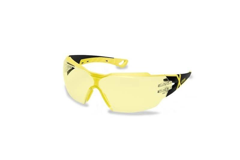 UVEX Pheos CX2 Lunettes- noir/jaune