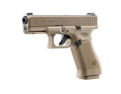 Glock 19X Kal. 4,5 mm (.177) BB – 2,0 Joule – Coyote