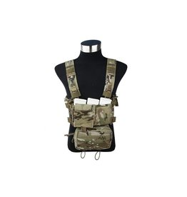 TMC Modular Lightweight Chest Rig Full Set - MultiCam