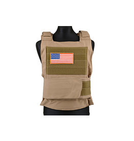 ACM Tactical U.S. Body Armor Schutzweste - TAN