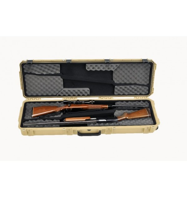 SKB Cases iSeries 5014 Double Rifle Case - TAN