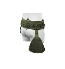 Primal Gear tactical belt with Drop Leg Panel Laser Cut - OD