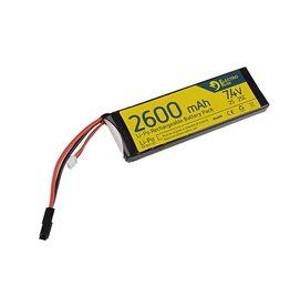 Electro River LiPo 7.4V 2600mAh 25/50C Dean - Crane Stock