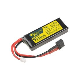 Electro River LiPo 7.4V 950mAh 25/50C Dean - Crane Stock