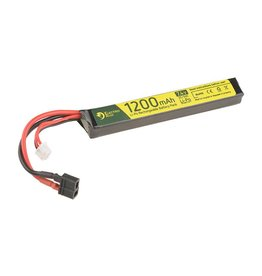 Electro River LiPo 7.4V 1200 mAh 25/50C Dean - Stick