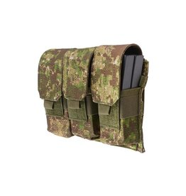 Ultimate Tactical 3- fach M4/ M16 Magazintasche - Greenzone