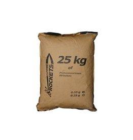 Rockets BIO Professionnel BBs 0.20g - 25kg - blanc