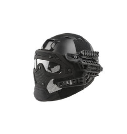 Ultimate Tactical modularer Helm - FAST Gunner  Base Jump  - BK