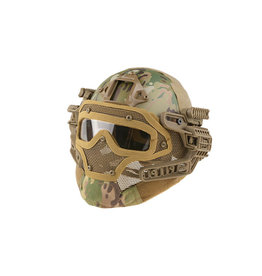 Ultimate Tactical modularer Helm - FAST Gunner  Base Jump  - MultiCam