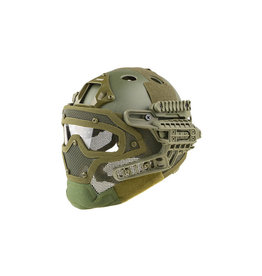 Ultimate Tactical Modular Helmet - FAST Gunner Para Jumper - OD