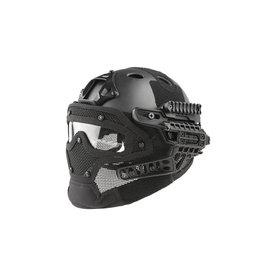 Ultimate Tactical modularer Helm - FAST Gunner Para Jumper - BK