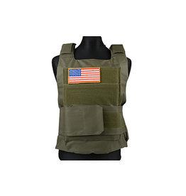 ACM Tactical US Body Armor Protective Vest - OD