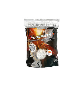 Rockets Platinum 0,30g BBs - 3.300 pieces - white