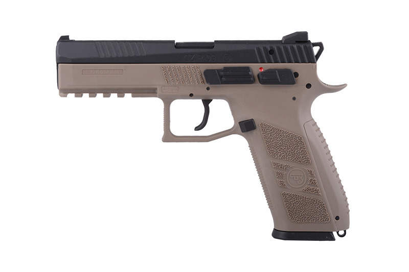 ASG CZ P-09 Duty GBB 0,84 Joule - TAN