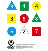 Range Solutions RS training target 700x500 mm - 50 pieces