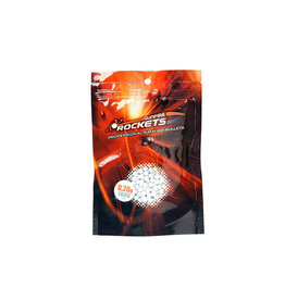 Rockets Professional 0.20g BBs - 1.000 pcs - white